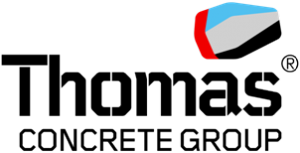Thomas concrete group logotype, customer logos